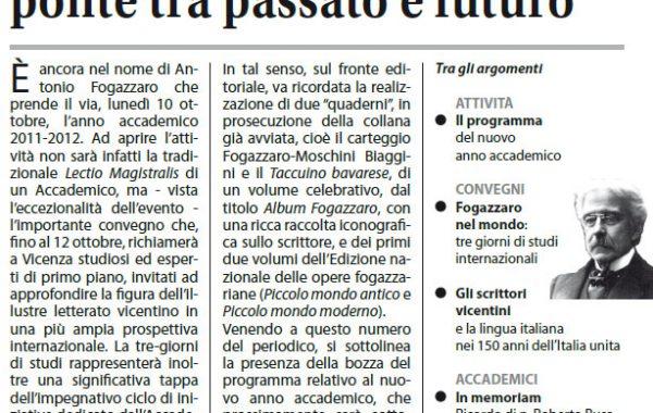 Anno XIII Ottobre 2011-N. 3
