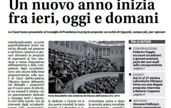 Anno XV Ottobre 2013-N. 3