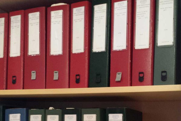 Archivi dell'Accademia 1978-1994