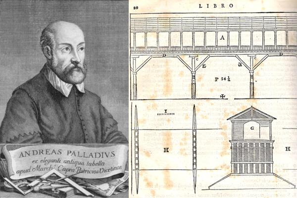 Palladio e il suo ponte di paesaggio